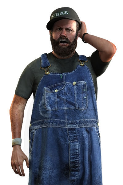GTA 5 online character in FiveM